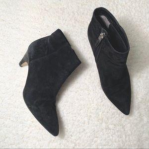 SAM EDELMAN | Black Pointed Toe Ankle Boots Sz 7